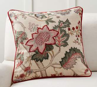 Pottery Barn Resi Reversible Embroidered Pillow Cover