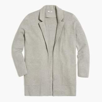 J.Crew Open-front sweater blazer