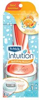Schick Intuition Revitalizing Moisture Razor for Women with 2 Moisturizing Razor Blade Refills and Tropical Citrus Extracts