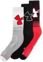 Under Armour Men's 3 Pack HeatGear Socks