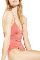 Topshop Sporty Mesh Detail Bodysuit