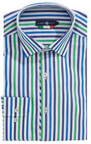 Stone Rose Multistripe Egyptian Cotton Dress Shirt