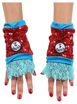 BuySeasons Dr. Seuss Kid's Thing 1 and 2 Sequin Child Glovettes
