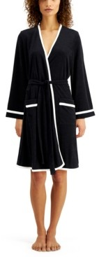 Sesoire Short Terry Wrap Robe