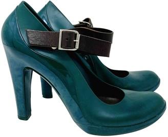 Marni Green Plastic Heels
