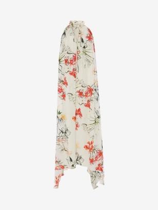 Alexander McQueen Endangered Flower Evening Dress