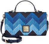 Dooney & Bourke Denim Chevron Mimi Crossbody