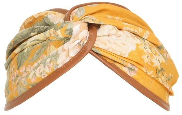 Zimmermann Leather Trim Headscarf