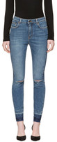 Dolce & Gabbana Indigo Ripped Audrey Jeans