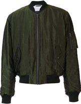 Haider Ackermann zipped arm bomber jacket - men - Rayon - XS
