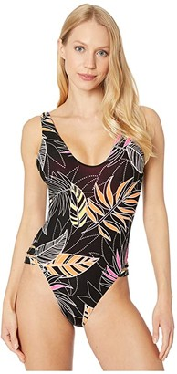 Becca by Rebecca Virtue Miami Sophie One-Piece High Leg (Multi) Women's Swimsuits One Piece
