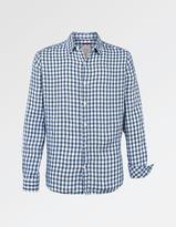 Fat Face Linen Gingham Shirt