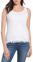 Velvet by Graham & Spencer Women's Crochet Knit Tank