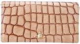 Vivienne Westwood Apollo Croc SLG Purse with Chain (Beige) - Bags and Luggage
