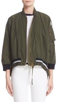 Moncler Women's Reblochon Bomber Jacket