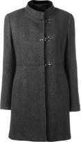 Fay tweed duffle coat - women - Cotton/Polyester/Virgin Wool - L