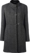 Fay tweed duffle coat - women - Virgin Wool/Cotton/Polyester - L