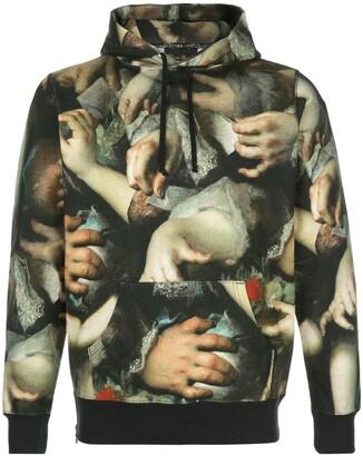 Supreme x Undercover printed hoodie