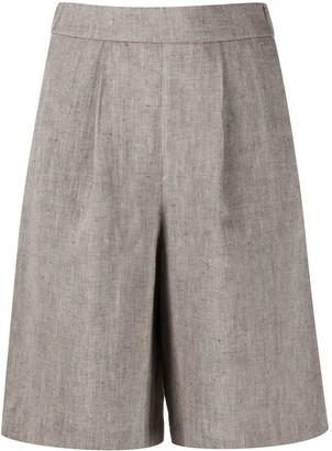 Peserico Pleated Chino Shorts