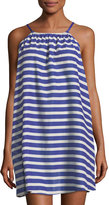 Kate Spade Striped Halter Coverup Dress