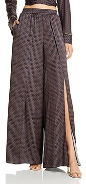 Jonathan Simkhai Chain Print Swim Cover-Up Pants