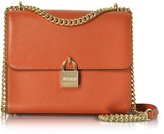 Michael Kors Mercer Large Pebble Leather Messenger Bag