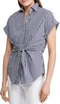 Ralph Lauren Tie-Front Gingham Shirt - 100% Exclusive