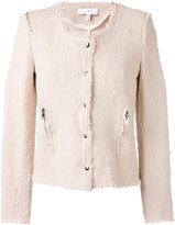 IRO 'Agnette' tweed smart jacket - women - Cotton - 42