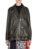 Acne Studios Oversized Leather Jacket