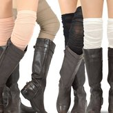 TeeHee Socks Teehee Women's Fashion Extra Long Cotton Thigh High Socks - 4 Pair Pack