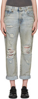 R 13 Blue Catherine Jeans