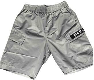 M+rc Noir Silver Synthetic Shorts