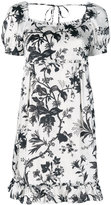 McQ by Alexander McQueen floral embroidered dress - women - Polyester/Spandex/Elastane - 38