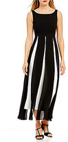 Adrianna Papell Sleeveless Two-Toned Jumpsuit