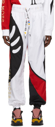 Reebok by Pyer Moss White Collection 3 Sankofa Track Pants
