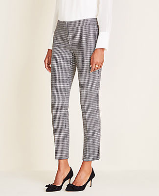 Ann Taylor The Tall Ankle Pant In Houndstooth