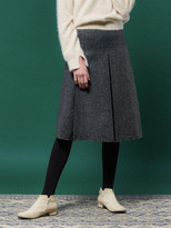 Herringbone Line Skirt