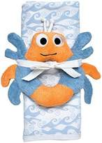 Under the Nile Stroller Blanket Crab Toy Gift Set - Blue by