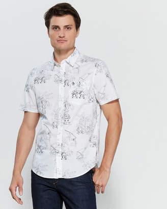 Original Penguin Short Sleeve Island Paradise Shirt