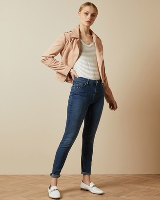 Ted Baker Studded Skinny Jeans