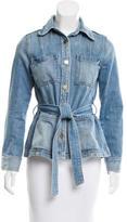 Frame Denim Button-Up Jacket
