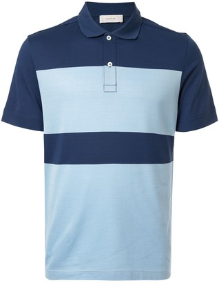 Cerruti Colour-Block Polo Shirt