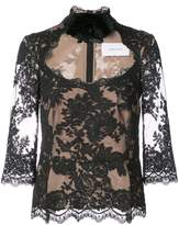Marchesa lace top