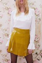 For Love & Lemons Claire Ruffle Blouse