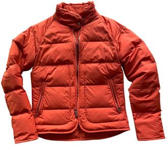 Hermes Orange Polyester Coats