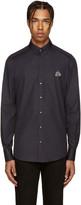Dolce & Gabbana Navy Embellished Bee Shirt