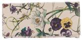 Gucci Flora Print Continental Wallet