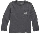 Vineyard Vines Toddler Boy's Glow In The Dark Vintage Whale Pocket T-Shirt
