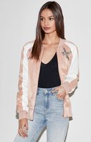 KENDALL + KYLIE Kendall & Kylie Embroidered Satin Bomber Jacket