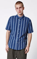 Brixton Branson Striped Short Sleeve Button Up Shirt